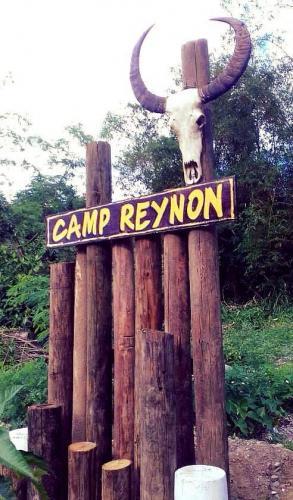 camp reynon entrance