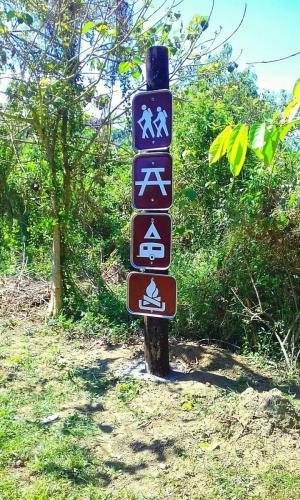 camp reynon signage