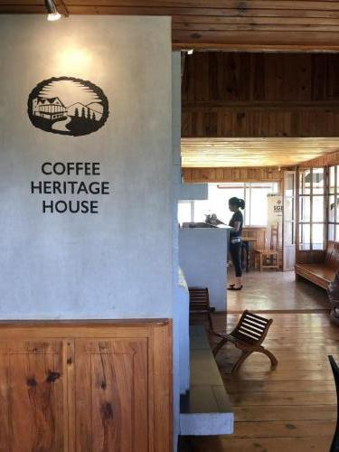 Coffee Heritage house - quite far from the town but its a quaint place.